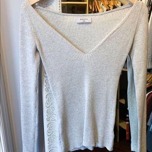 Grey Babaton sweater